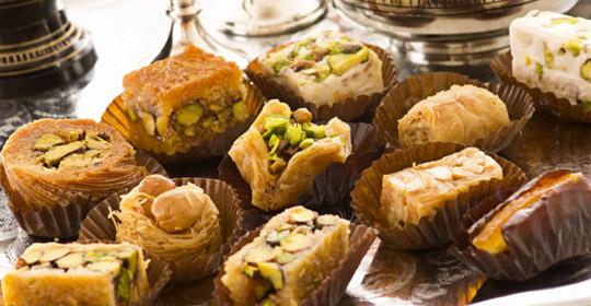 Восточные сладости торты фото